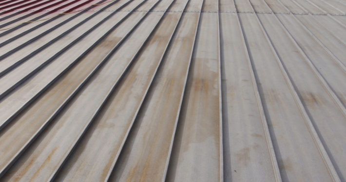 Standing Seam Metal Roof – Before
