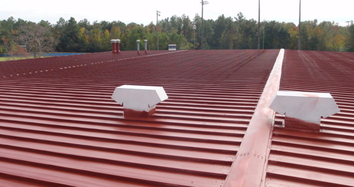 Acrylic Metal Primer Application | Jaymar Roofing New Orleans, Mandeville, Covington, Slidell and Gulf Coast MS